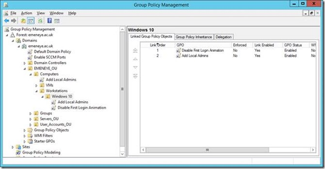 group policy order of precedence faq