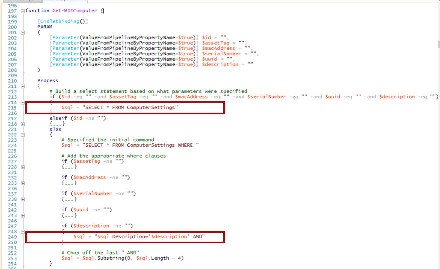 Quick Fix: Get-MDTComputer by Description Broken in the MDT