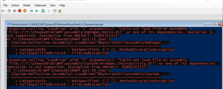 Unable to Import MahApps Metro DLL Files using PowerShell in